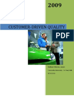 Customer Driven Quality