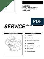 Samsung MFP SCX 1150F MFP Service Manual