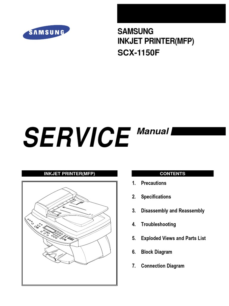Samsung Mfp Scx 1150f Service Manual Electrostatic Discharge Low Power Optical Interrupter Pdf Modulated Light Received Pl Tone Electrostatics