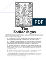 The Zodiac Signs