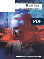 Peter Trifonas Barthes and the Empire of Signs 1997
