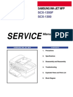 Samsung SCX 1350F and 1300 MFP Service Manual