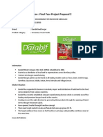 FYP Proposal for Darabif Frozen Burger Patty