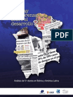 ¿Qué hay en la prensa sobre el desarrollo? Análisis de 51 diarios en Bolivia y América Latina