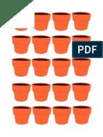 File Folder Blank Flower Pot Game
