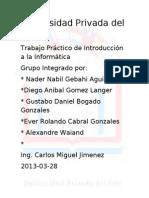 Universidad Privada Del Este Trabaho Practicovs 2003
