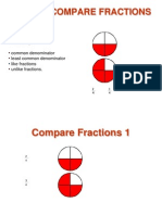 how to compare fractions slideshow pdf