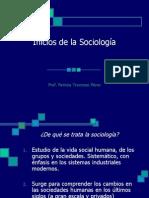 Inicios de la Sociología