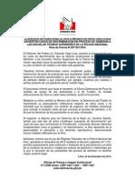 NP- discriminación a mujeres en escuelas de la PNP