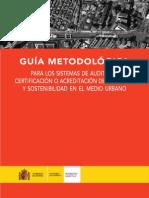 Guia Metodologica de Certificaciones Urbanas (Salvador Rueda)