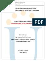 Examen Final 2013 1