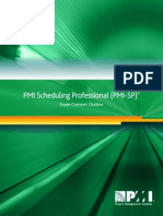 PMI-SP Exam Content Outline