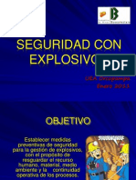14. Seguridad Con Explosivos