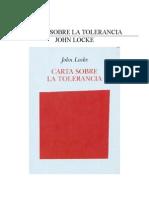 Locke John - Carta Sobre La Tolerancia.doc