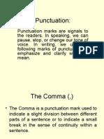 Punctuation s