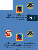 Answer Maching Presentation