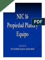 NIC 16 - Robert Aliaga