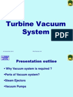 Turbine Vacuum System in Thermal Power Plant