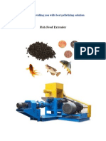 Fish Feed Exturder