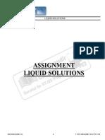 IIT JEE2013 -Liquid Solution - I