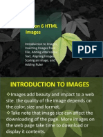 Unit II - Lesson 6and7 - HTML Images and Background