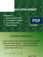 Interaksi Spin Orbit
