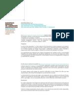 Bienal Escuelas Convocatoria Castellano