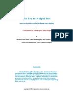 7439043 Carol Look EFT the Key to Weight Loss Patricia Carrington Sandra Radomski