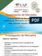 Semana 1 - La Investigacion de Mercados