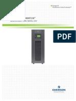 Liebert GXT3 UPS (230V) 10000VA Tower User Manual(Spanish)