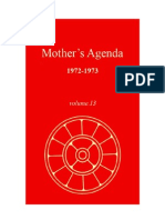The Mother - Agenda Vol 13