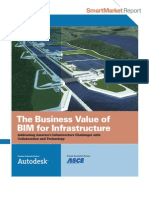 Business Value of Bim for Infrastructure Smartmarket Report 2012