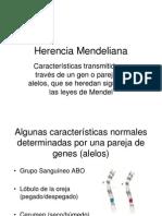 2012 Alumnos Herencia Mendeliana UPC