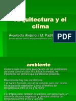182840607 Arquitectura y El Clima