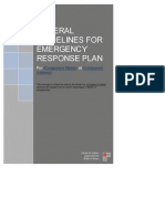 General Guidelines for Emergency Reponse Plan (for Industrial Premises) - Latest General Erp Guidelines With Example (Revised 30 Sep 13)
