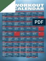 XT2 Workout Calendar