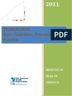 TRANSFUSION Basic Guidelines Principles and Practice 2011