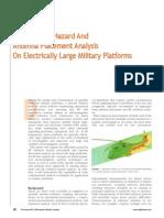 Radiation Hazard Radar