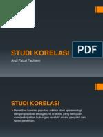 Studi Korelasi
