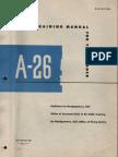 A-26 Invader Pilot Training Manual
