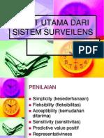 Sifat Utama Sistem Surveilens Epid