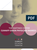 The Hastings Center Cunniff-Dixon Physician Awards