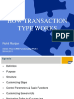 How Transaction Type Works