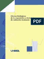 Efectos Biologicos Radiacion Ionizante