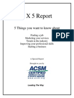 5x5 report_2012 For ACSM members