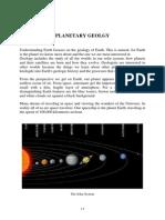 Planetary Geology
