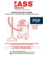 Aspirator Filtrare ApaZVC05 Manual Utilizare(1)