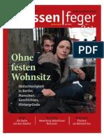 Ohne festen Wohnsitz – Ausgabe 21 2013 des strassenfeger