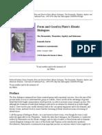 Plato Eleatic Dialogues