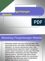 Proses Pengembangan Web